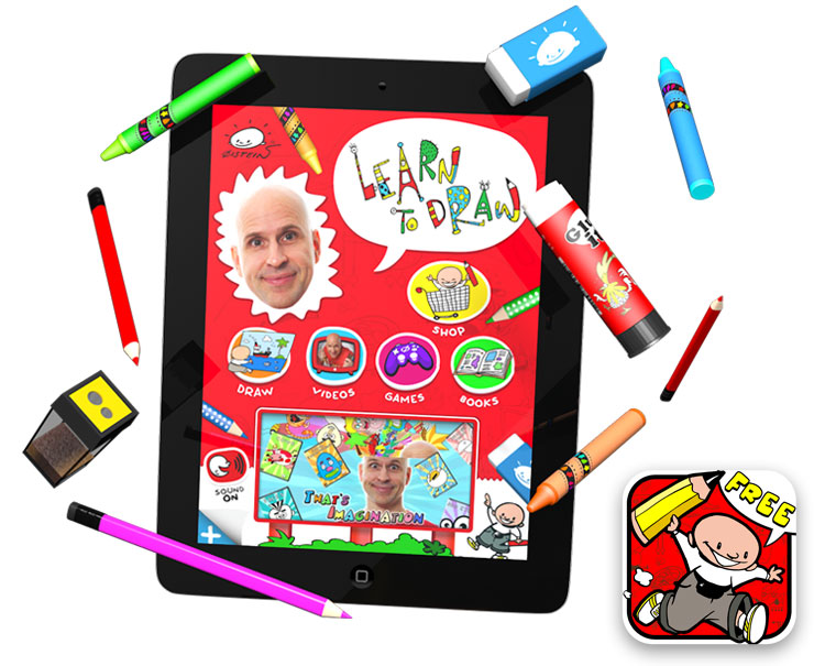 Øistein Kristiansen and Earthtree Media re-launch a suite of iPhone and iPad apps for creativity and drawing!