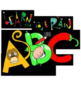 Learn To Draw ABC – alphabet art from Earthtree Media!