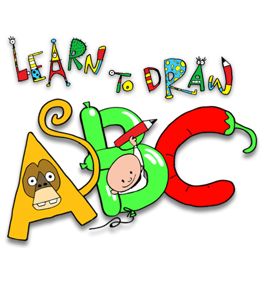 Learn To Draw ABC – alphabet art from Earthtree Media!