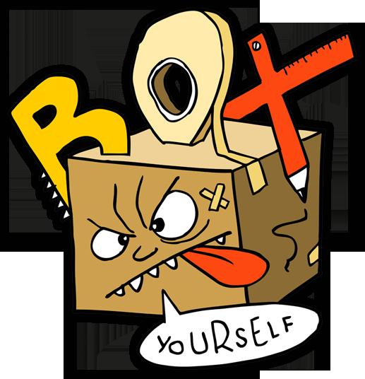 Box Yourself – cardboard creativity from Earthtree Media!